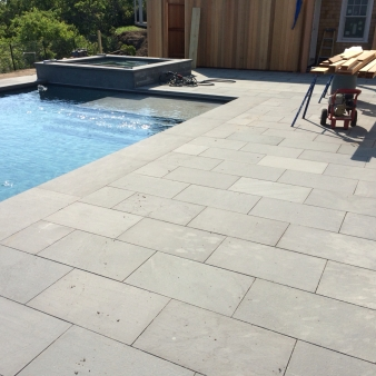 Bluestone paving