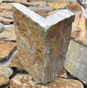 Rustic Quartzite Corner