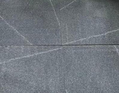 Grey Granite - sealed with Enhancing Sealer