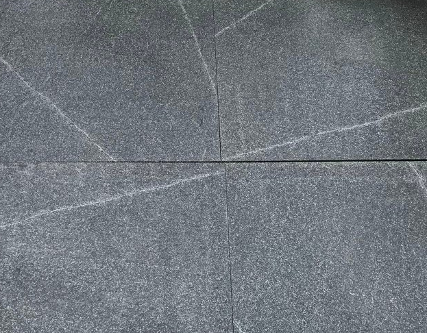 Grey Granite - sealed with Enhancing Sealer