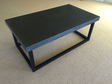 Dark Bluestone Honed Coffee Table