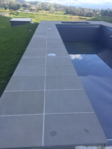 Bluestone Sawn finish Dropface Coping