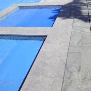 Atlantic Stone Flamed finish Pool Coping & Paving
