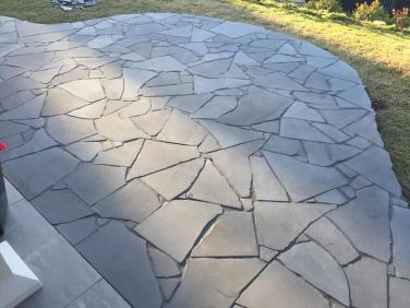 Bluestone Crazy Paving
