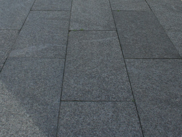 Black Basalt Paving Flamed finish