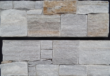 Golden Vein Quartzite - Cement Backed Walling