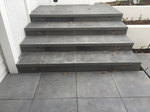 Bluestone Sawn finish Stairs and Paving