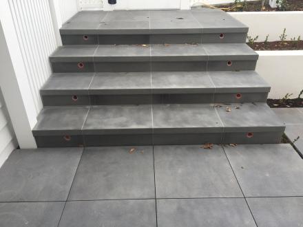 Bluestone Sawn finish Stairs and Paving