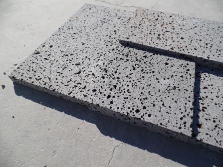 Lava Rock 3D Cladding