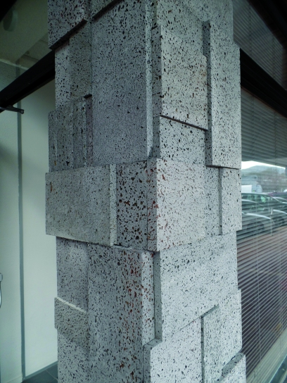 Lava Rock 3D Cladding