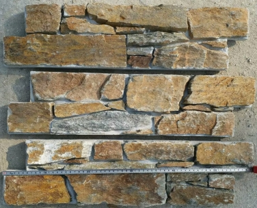 Rustic Quartzite Cement Backed Walling