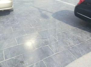 Limestone Blue Honed finish paving