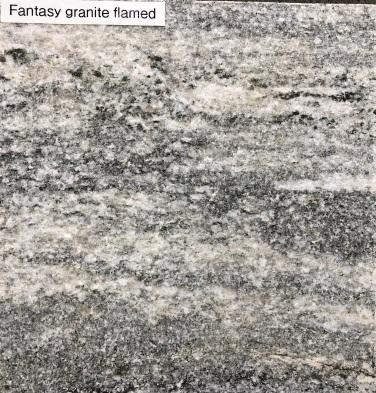 Fantasy Granite Flamed finish - vein cut