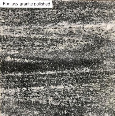 Fantasy Granite Polished finish - vein cut