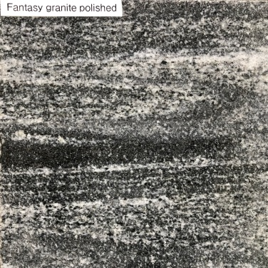 Fantasy Granite Polished finish - vein cut