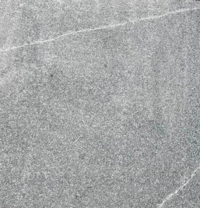 Grey Granite with White Lines - Flamed finish
