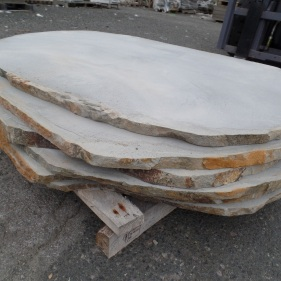Natural Cut Bluestone Stepper XL