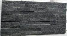 Black Quartzite Stacked Stone