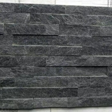 Black Quartzite Stacked Stone