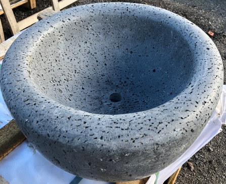 Lava Rock Sink