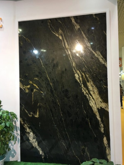 Titanium Gold Granite Polished
