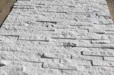 White Quartzite Stacked Stone