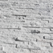 White Quartzite Stacked Stone