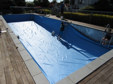 Grey Granite Bullnose Pool Coping