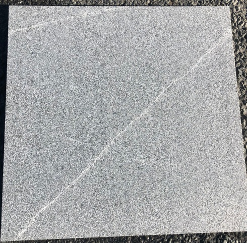 Grey Granite flamed finish