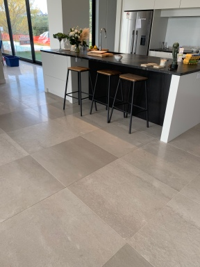Grey Travertine Honed & Filled finish