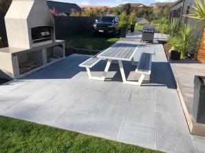 Grey Granite Paving