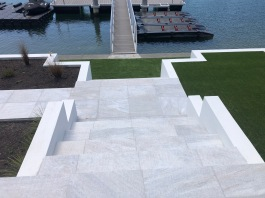 White Quartzite Paving