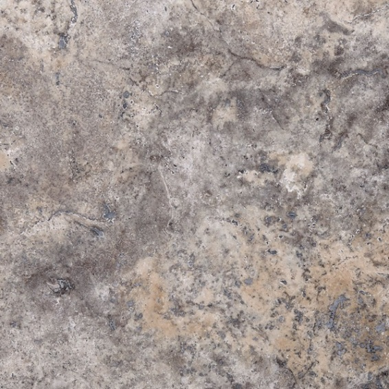 Silver Travertine Tumbled finish