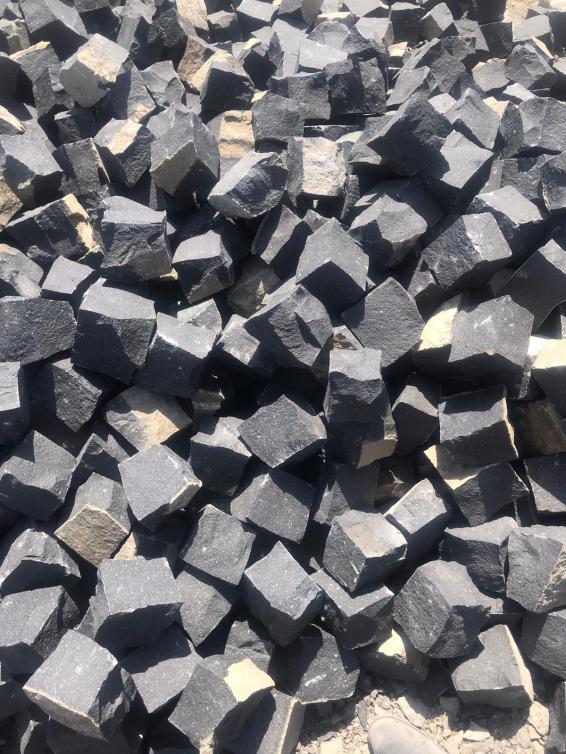 Chipped Basalt Cubes