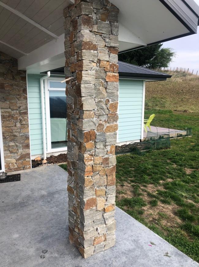 Rustic Quartzite Pillar