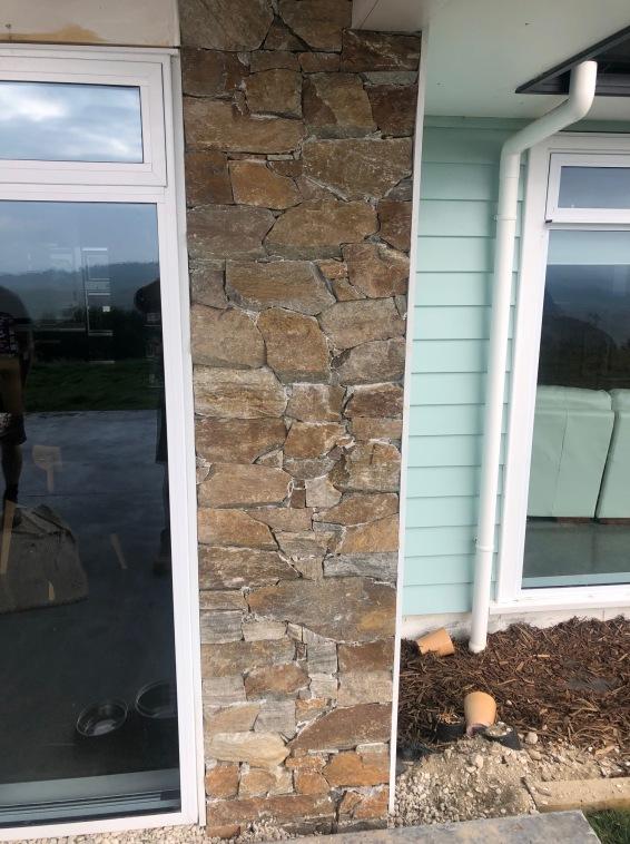 Rustic Quartzite Wall